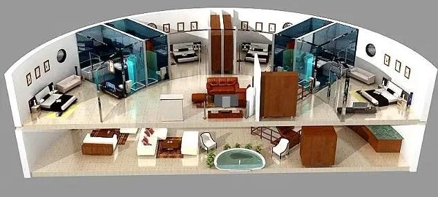 noticias Millonarios preparan edificio que soportará el fin del mundo 2012