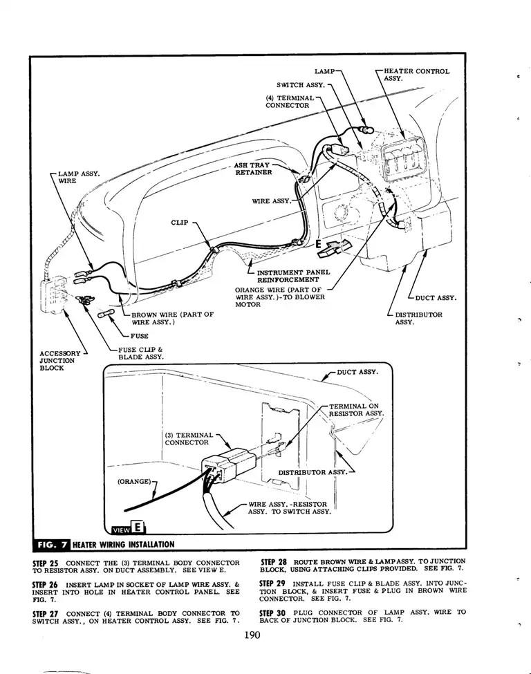 1967 Gto Hood Tachometer Wiring Diagram 1967 GTO Wiper