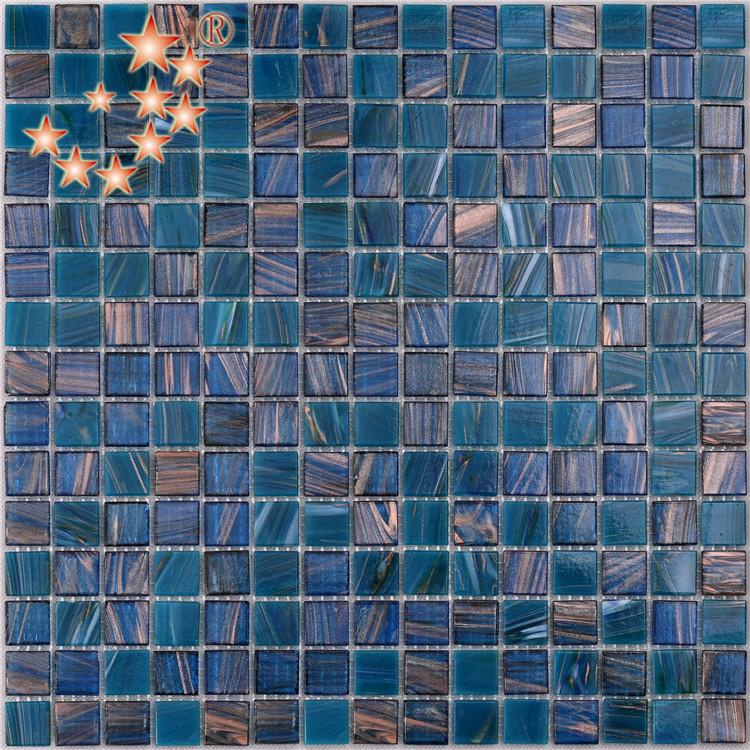 any good brands for blue glass tile