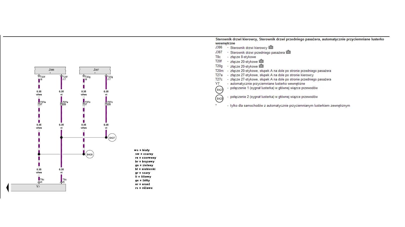Asystent Swiatel Drogowych HIGH BEAM ASSIST 2008-2012