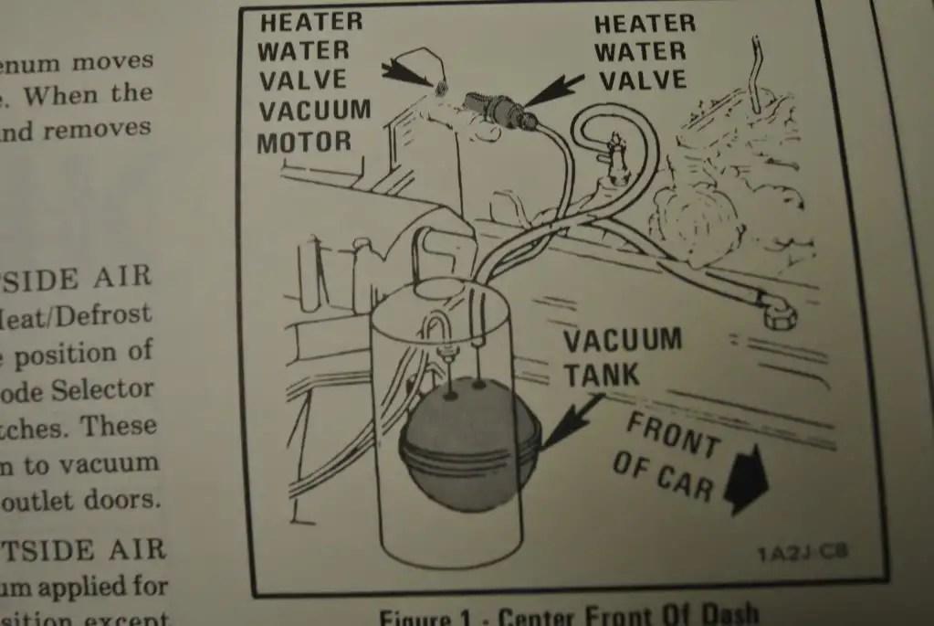1970 Chevy C10 Heater Control Vacuum Diagram View Diagram