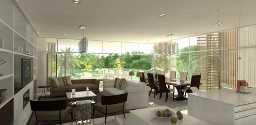 Projeto Residencial Ashjar em Al Barari do 10 DESIGN. Imagem Cortesia de 10 DESIGN