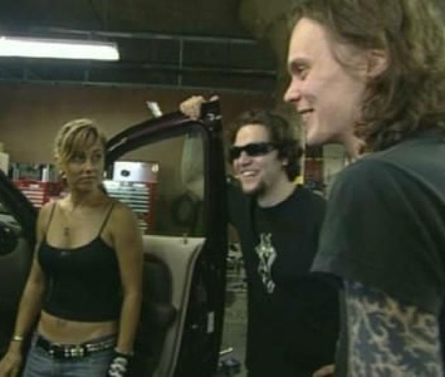 Bam Margera And Jenn Rivell And Ville Valo