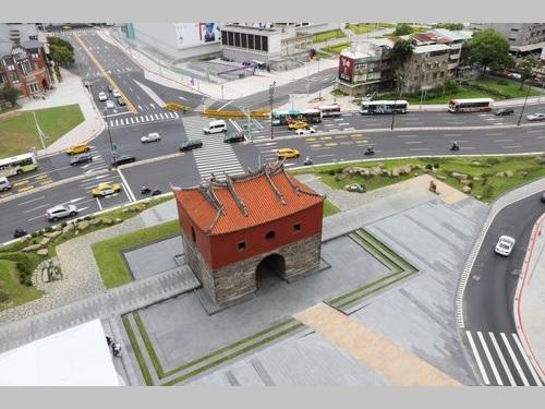 台北市の北門広場が供用開始  歴史の息吹を感じる空間に/台湾 | 社会 | 中央社フォーカス台湾
