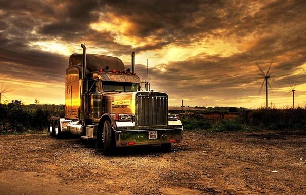 Trucker Girl Wallpaper Wallpaper Truck Tractor Kenworth Transport Trailer