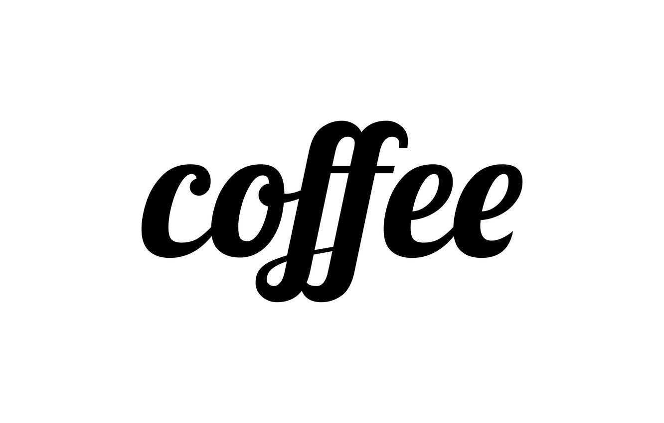 Wallpaper letters, coffee, the word, coffee images for
