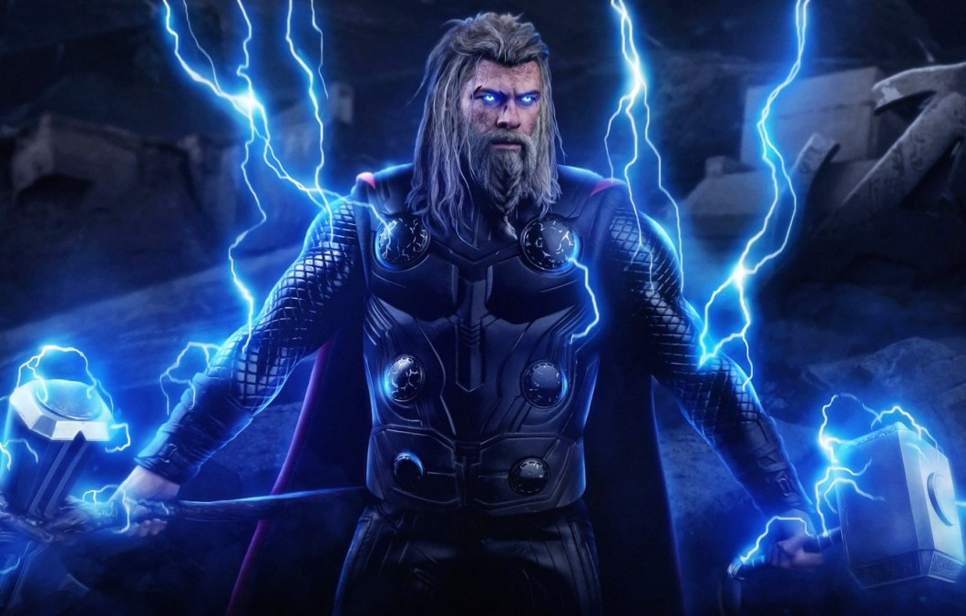 Wallpaper Thor End Game