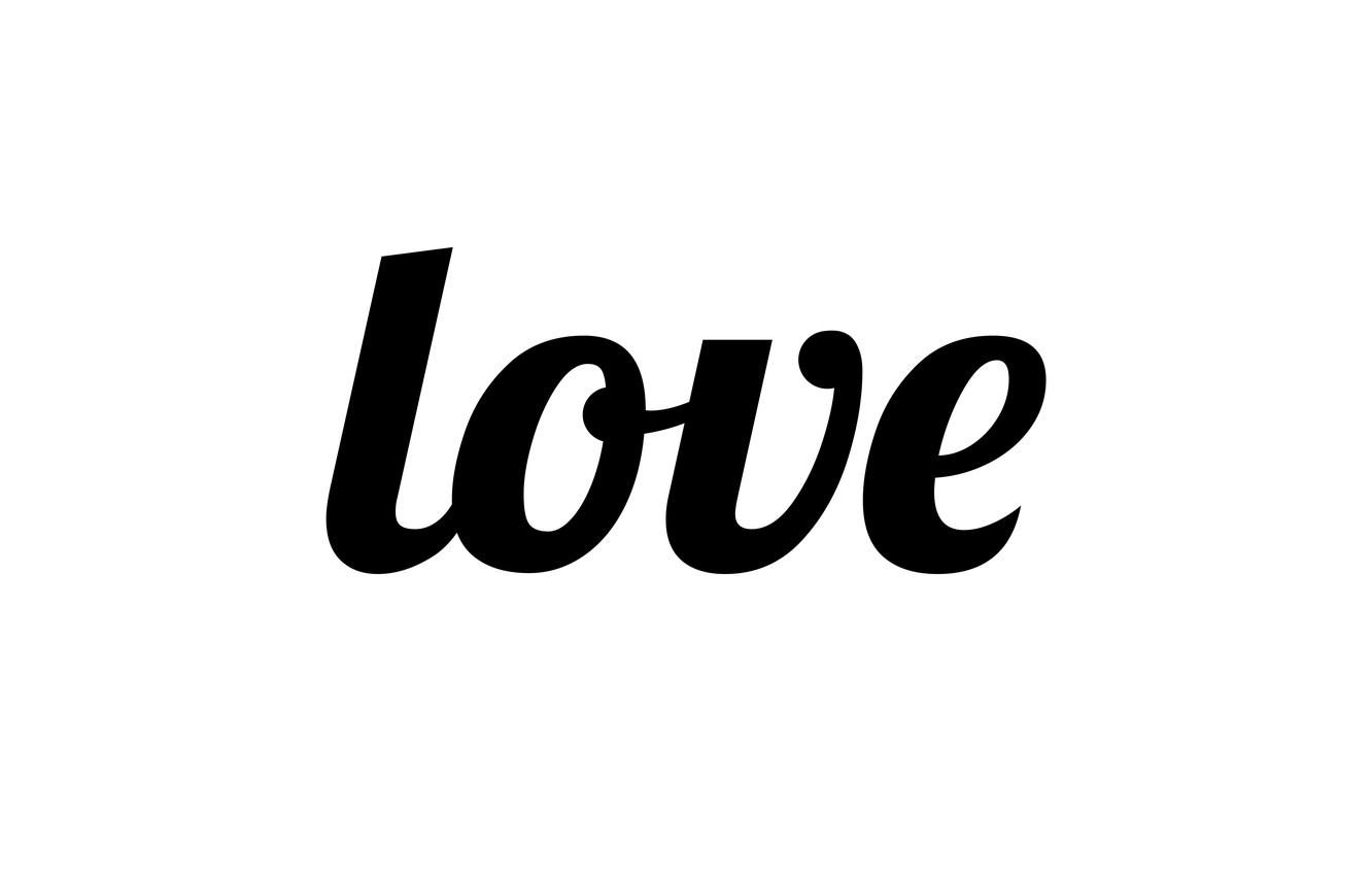 Wallpaper letters, love, the word images for desktop