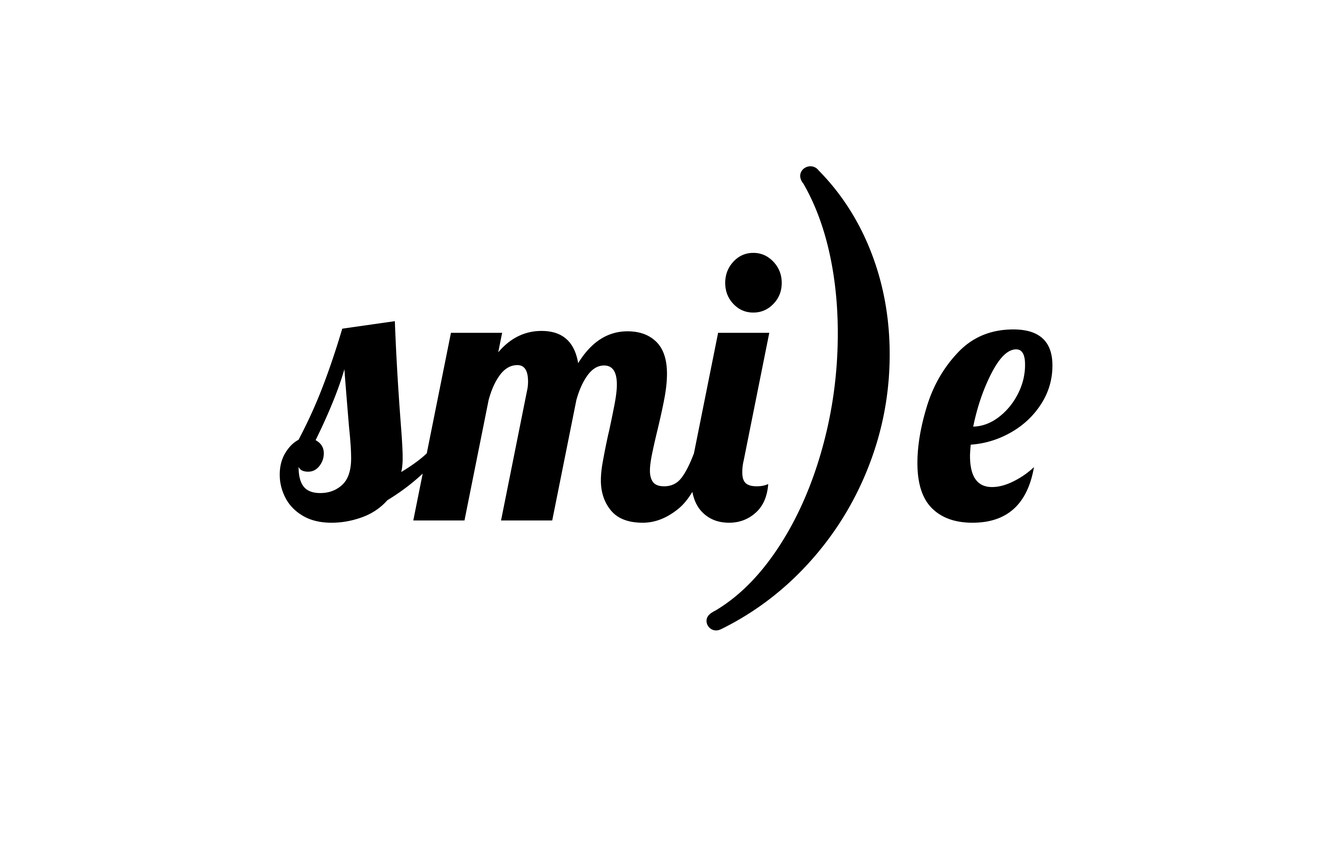 Wallpaper letters, smile, the word images for desktop