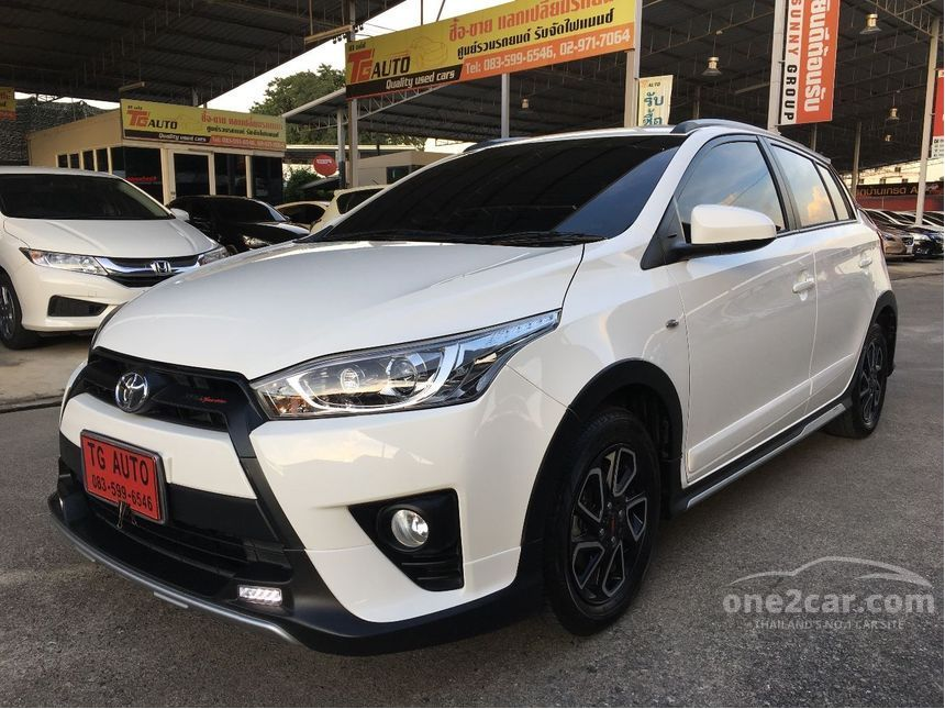 all new yaris trd sportivo 2017 agya 1.2 g toyota 1 2 in กร งเทพและปร มณฑล automatic hatchback