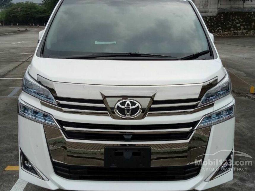 harga all new vellfire 2018 toyota kijang innova 2019 jual mobil g 2 5 di banten automatic van wagon