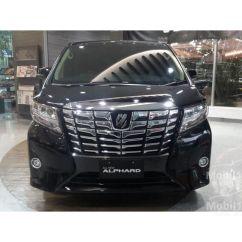 Harga All New Vellfire 2018 Grand Avanza 2016 Type G Jual Mobil Toyota Alphard 2 5 Di Jawa Barat Automatic Van Wagon
