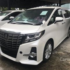 Toyota All New Alphard 2015 Kompresi Grand Avanza G S 2 5 In Johor Automatic Mpv White For Rm
