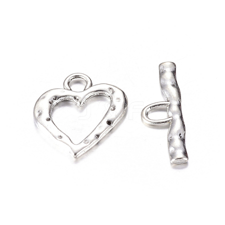 Wholesale Tibetan Style Toggle Clasps, Lead Free and