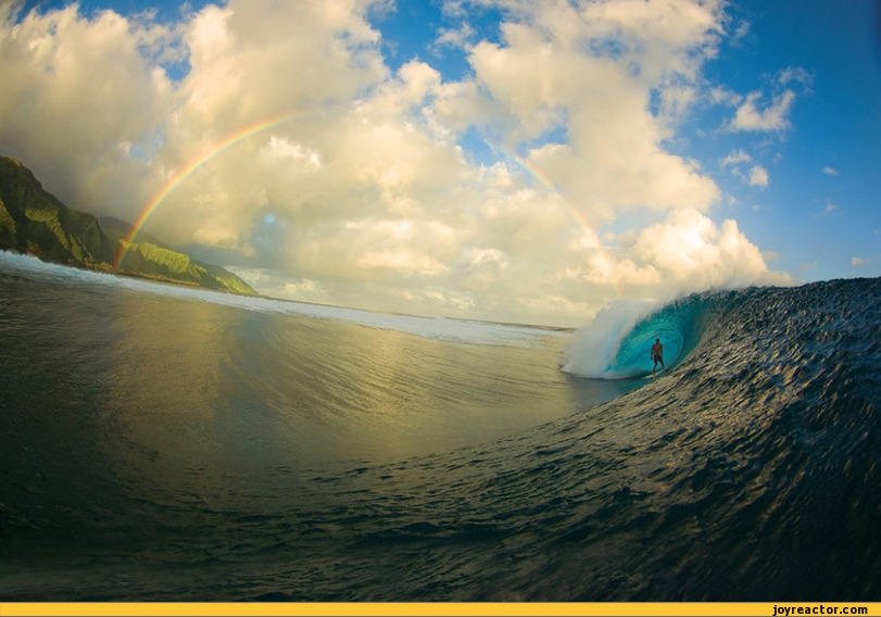Photography,wave,surfing,rainbow