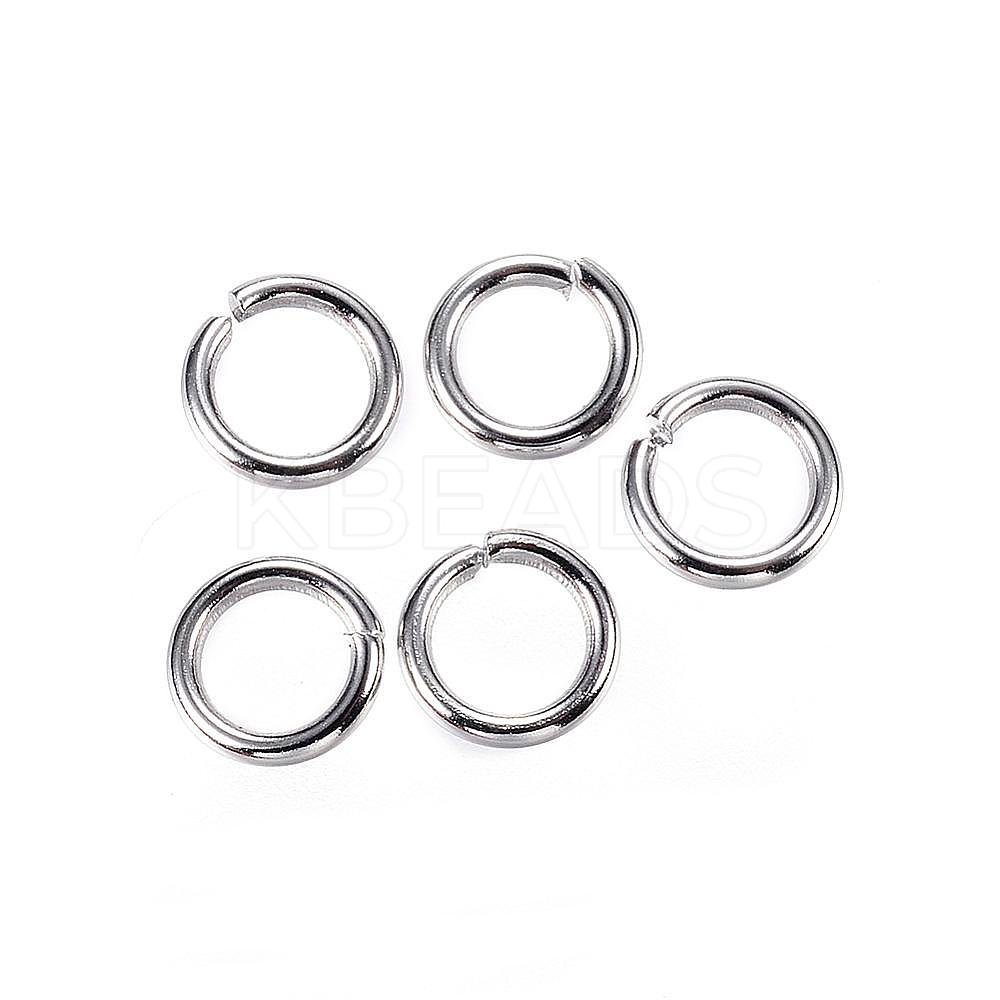Wholesale 304 Stainless Steel Jump Rings, Close but