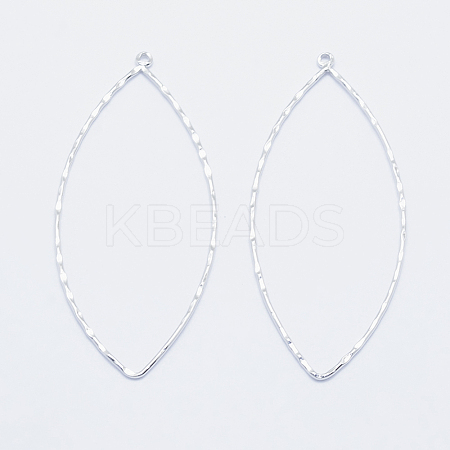 Wholesale Long-Lasting Plated Brass Big Pendants, Real