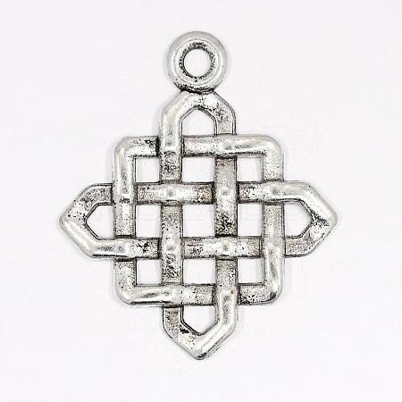 Wholesale Tibetan Silver Pendants, Lead Free and Cadmium