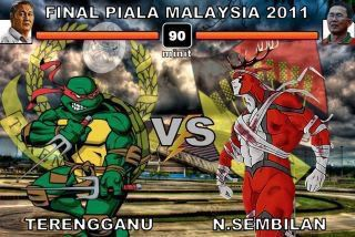 Keputusan terkini Akhir Piala malaysia 2011 (Terengganu VS Negeri Sembilan), negeri9 vs terengganu, keputusan akhir piala malaysia 2011, siapa juara piala malaysia 2011, terengganu menjulang piala malaysia 2011