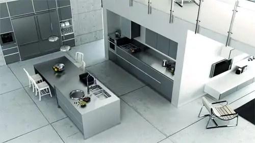 REKKER SYSTEM, cocinas