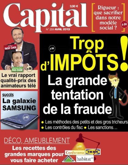 Capital N°259 Avril 2013