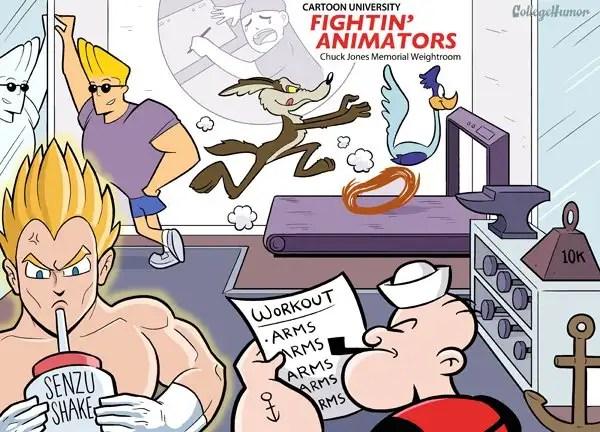 694547621dc96244a89d320 - Dibujos animados en la Universidad