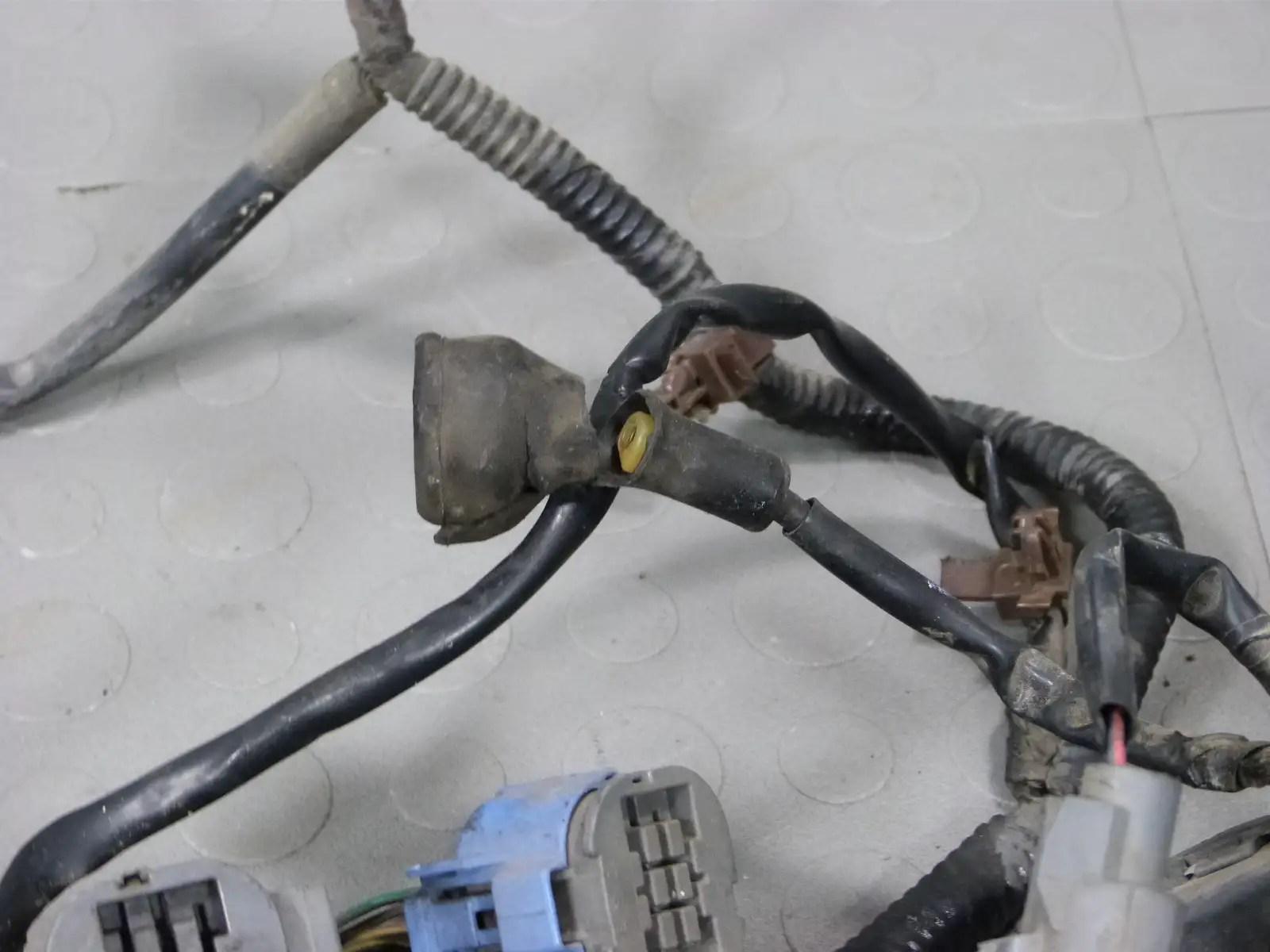 hight resolution of 96 97 98 honda civic ex obd2 sohc vtec d16y8 engine wire pcm wiring harness diagram