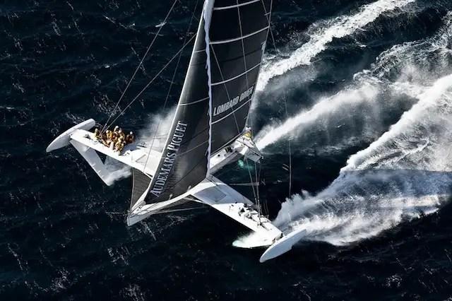 hidro2 - L'Hydroptère: el velero más rápido del mundo no surca el mar sino vuela