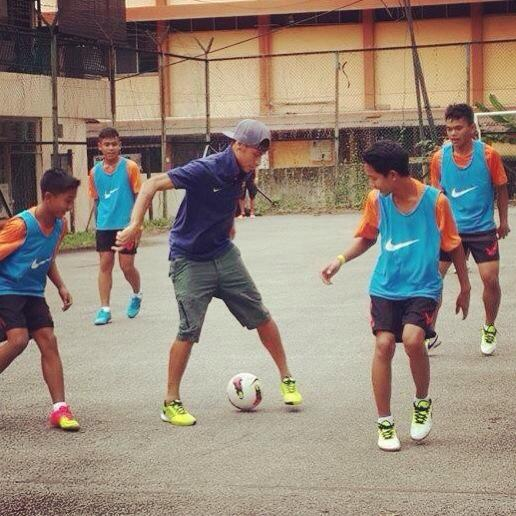 neymar, neymar datang malaysia, neymar datang ke victoria institution 2013