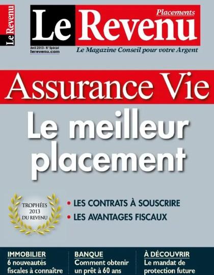 Le Revenu Placements N°194 Avril 2013