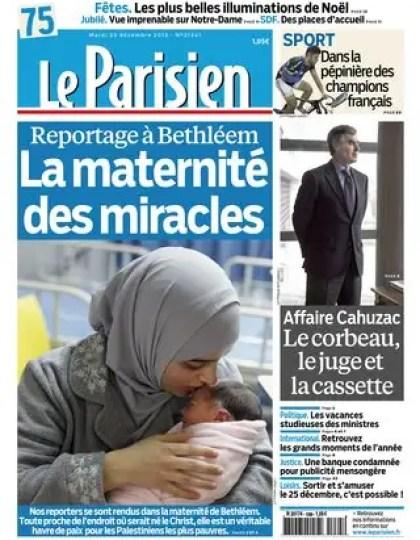 Le Parisien Mardi 25 Décembre 2012