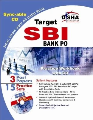 Buy Target SBI Bank PO - 15 Practice Sets Workbook with Sync-able CD 2nd Edition: Book