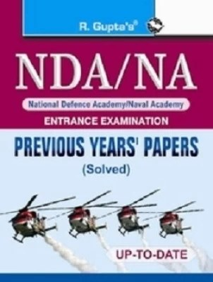 Buy NDA/NA Previous Yeas Papers (solved) : Previous Years Solved Paper 1st Edition: Book