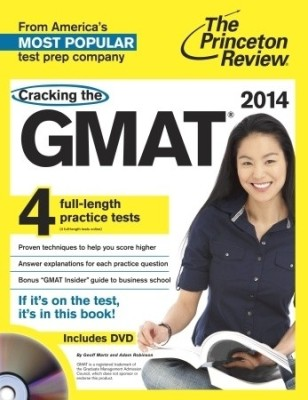 Buy Cracking the GMAT with 4 Practice Tests & DVD, 2014 Edition: Book