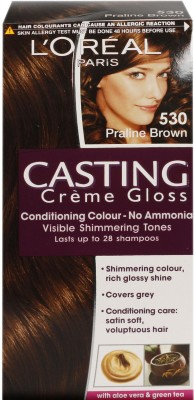 loreal paris casting creme gloss dark brown 400 with offer hair dark brown hairs