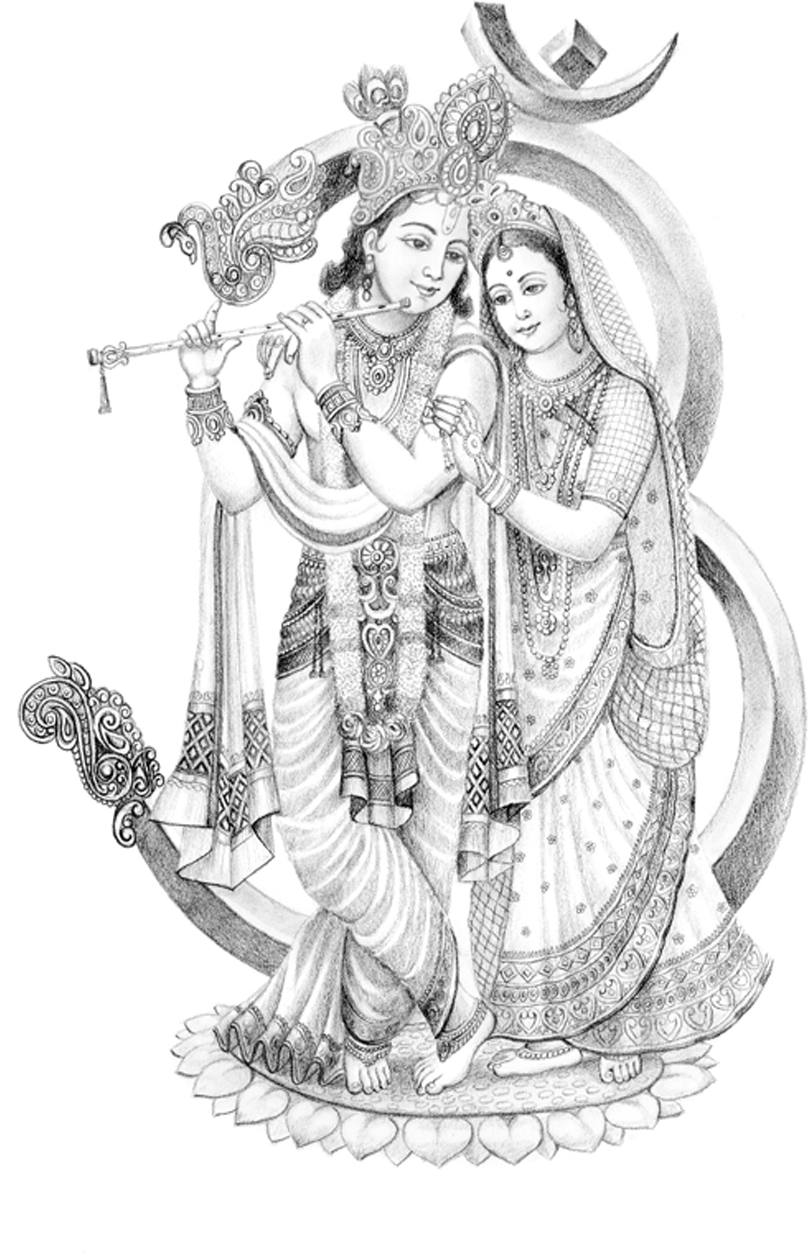 Radha Krishna Fine Art Print Religious Posters In India Buy Art Film Design Movie Music