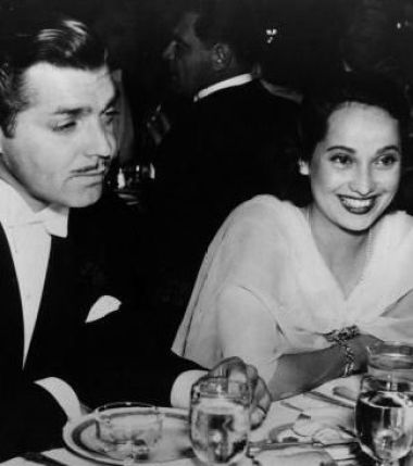 Image result for CLARK GABLE AND MERLE OBERON