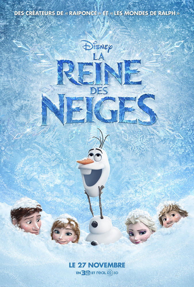 La Reine Des Neiges En Anglais : reine, neiges, anglais, REINE, NEIGES, (2013), Cinoche.com