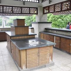 Outdoor Kitchen Cutler And Bath 成都万华麓山国际别墅区景观 户外厨房 设计师图库