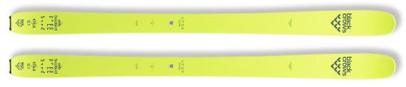 Skis BLACK CROWS Orb freebird (modèle 2017)