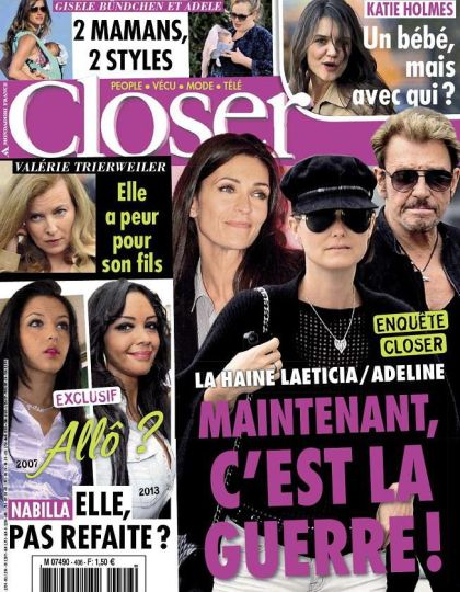 Closer N°406 du 23 au 29 Mars 2013