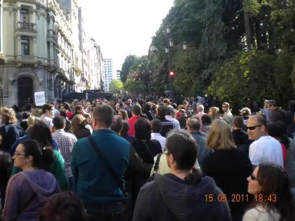 oviedo - El camino de los Indignados así van las marchas del 15-M