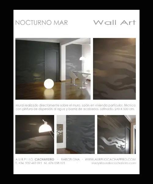 Aurelio Cachafeiro, proyectos artísticos
