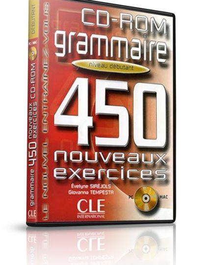 CD-ROM Grammaire – Niveau debutant – 450 Exercices
