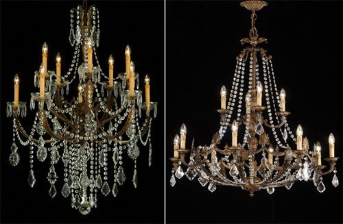 Decorative Chandelier, lámparas de cristal