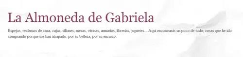 La Almoneda de Gabriela