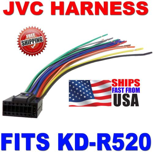 small resolution of 2010 jvc wire harness 16 pin harness kd r520 kdr520 ebay jvc kd r540 wiring diagram jvc kd r520 wiring diagram