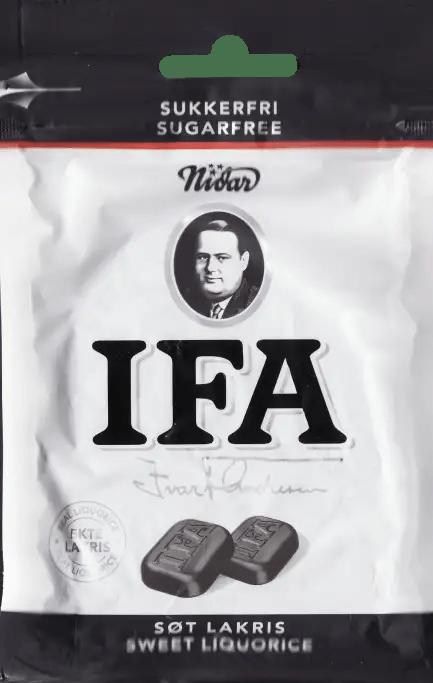 IFA sugarfree sweet liquorice