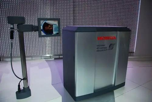 hondaenergystation - Automóvil eléctrico que genera su propia energía presentado por Honda