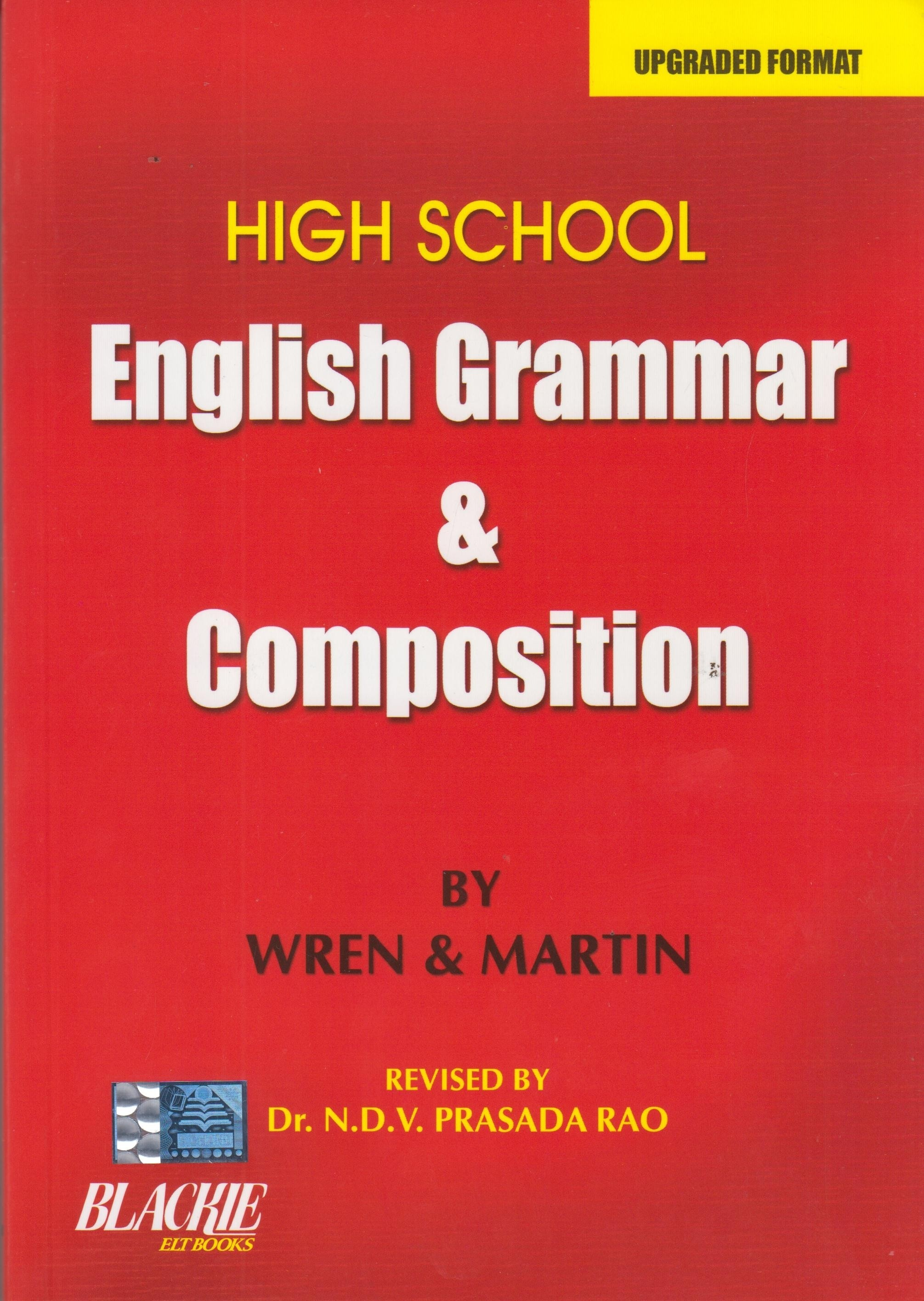 High School English Grammar Amp Composition Revised Edition